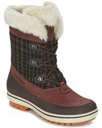 Helly Hansen - Georgia Women's Snow Boots In Brown - Lyst