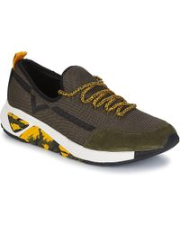DIESEL - S-kby Men's Shoes (trainers) In Green - Lyst