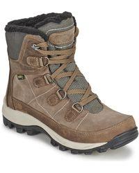 Kamik - Escapade Women's Snow Boots In Brown - Lyst