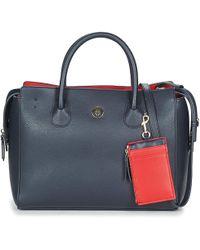 Tommy Hilfiger - Charming Tommy Satchel Women s Handbags In Blue - Lyst cf56e275526