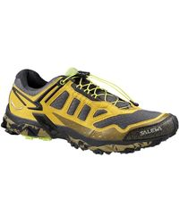 Salewa - Ms Ultra Train Men's Shoes (trainers) In Yellow - Lyst