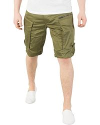 b27b1c8020 G-Star RAW Rovic Loose 1/2 Men's Shorts In Green in Green for Men - Lyst