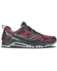 Saucony - Excursion Tr10 Men's Shoes (trainers) In Black - Lyst