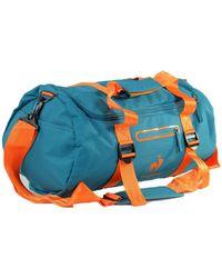 Le Coq Sportif - Training Glaieul Barrel Deep Lake Men's Sports Bag In Multicolour - Lyst