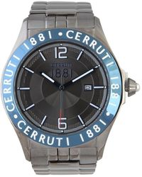 Cerruti 1881 - Cra120subl61mu_eccr12 Men's Analogue Watches In Grey - Lyst