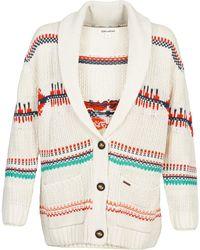 Billabong - Bela Women's Cardigans In White - Lyst