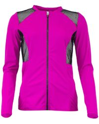 Oakley - Purple Jacket Sport Mesh Women's Tracksuit Jacket In Purple - Lyst