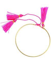 Amadoria - Neon Pink And Gold Bracelet Clara Women's Bracelet In Pink - Lyst