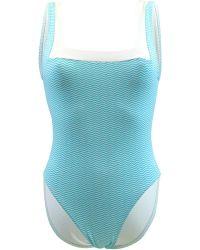 Carla Bikini - 1 Pièce Turquoise Swimsuit Swim Wavetrip Women's Swimsuits In Blue - Lyst