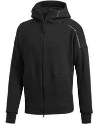 adidas - Zne hommes Sweat-shirt en Noir - Lyst