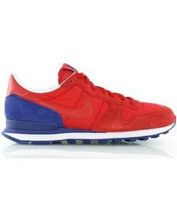 Nike - Internationalist Men's Shoes (trainers) In Red - Lyst