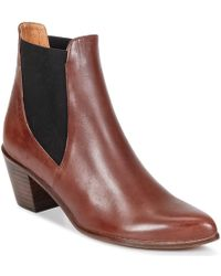 Emma Go - Gunnar Women's Low Ankle Boots In Brown - Lyst