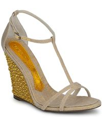 Magrit - Joaquina Women's Sandals In Beige - Lyst