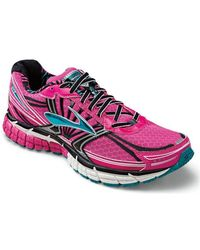 Brooks Brothers - Adrenaline Gts 14 Women's Shoes (trainers) In Pink - Lyst