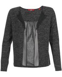 S.oliver | Lomoule Women's Cardigans In Grey | Lyst