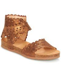 Think! - Palsioz Women's Sandals In Brown - Lyst