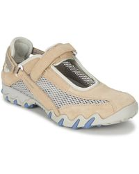 Allrounder By Mephisto - Niro Nature Women's Shoes (trainers) In Beige - Lyst