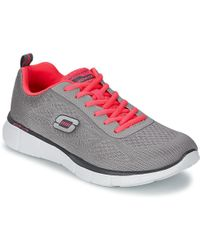 909ffe59c356 Skechers Go Run 600 Women s Running Trainers In Grey in Gray - Lyst