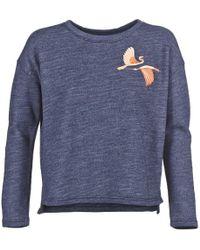 Loreak Mendian - Grulla Women's Sweatshirt In Blue - Lyst