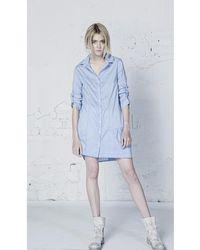 Lora Gene - Shirt Livia Sky Blue Woman Spring/summer Collection Women's Shirt In Blue - Lyst