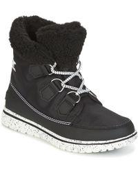 Sorel - Cozy Carnival Women's Mid Boots In Black - Lyst