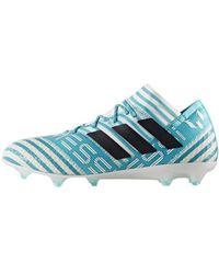 ca607307c59 Adidas Nemeziz Messi 171 Fg Men s Mid Boots In Multicolour in Blue ...