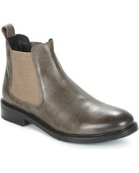 Hush Puppies - Luc Men's Mid Boots In Grey - Lyst