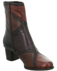 Everybody - 61201p5266glove Women's High Boots In Brown - Lyst