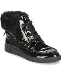 Mam'Zelle - Borila Women's Shoes (high-top Trainers) In Black - Lyst