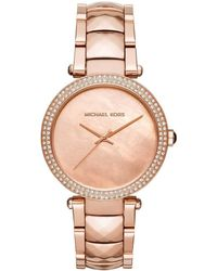 MICHAEL Michael Kors - - Mk6426 - Bronze Women's Analogue Watches In Other - Lyst