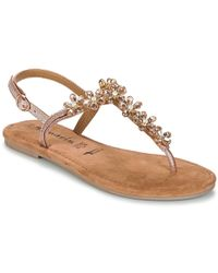 Tamaris - Gacape Women's Sandals In Gold - Lyst