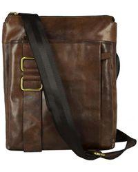 Time Resistance - Atonement Men's Messenger Bag In Brown - Lyst