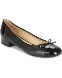 Geox - D Wistrey Women's Shoes (pumps / Ballerinas) In Black - Lyst