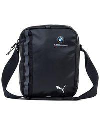 Puma Originals Portable Men s Pouch In Black in Black for Men - Lyst 2d5c6ce9aadc2