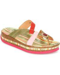 Think! - Aqaza Women's Flip Flops / Sandals (shoes) In Multicolour - Lyst