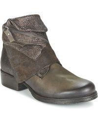 Dream in Green - Facharo Women's Mid Boots In Brown - Lyst