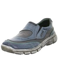 Krisbut - 48752 Men's Loafers / Casual Shoes In Blue - Lyst
