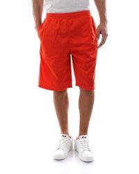687009 LONG SHORTS hommes Short en orange