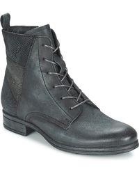 Dream in Green - Alisa Women's Mid Boots In Grey - Lyst