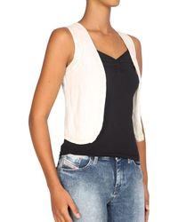Pepe Jeans - - Women's Shrug Rossa Women's In Beige - Lyst