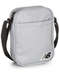 New Balance - City Bag - Silver Mink Women's Messenger Bag In Grey - Lyst