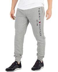 67abdbe3 Tommy Hilfiger - Men's Basic Branded Joggers, Grey Men's Sportswear In Grey  - Lyst