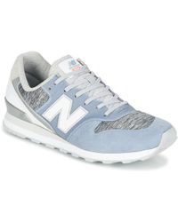 New Balance - Wr996 Women's Shoes (trainers) In Blue - Lyst