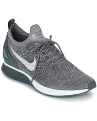 cb657227532872 Nike - Air Zoom Mariah Flyknit Racer Men s Shoes (trainers) In Grey - Lyst