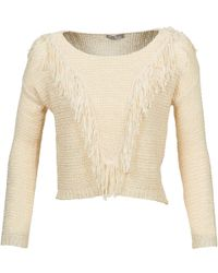 Betty London - Caze Women's Sweater In Beige - Lyst