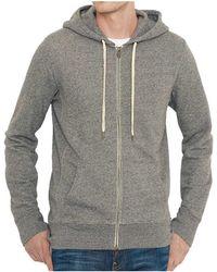 Levi's - Levis Original Zip Up Hoodie Men's Sweatshirt In Grey - Lyst