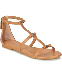 Marc By Marc Jacobs - Cube Bow Sandal Women's Sandals In Brown - Lyst