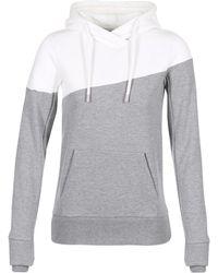 Bench - Blwe002433 Women's Sweatshirt In Grey - Lyst