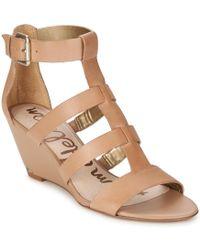 Sam Edelman - Sabrina Women's Sandals In Beige - Lyst
