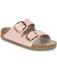 Birkenstock - Arizona Big Buckle Women's Mules / Casual Shoes In Pink - Lyst
